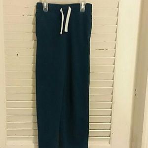 Boys Teal Sweatpants Size 6